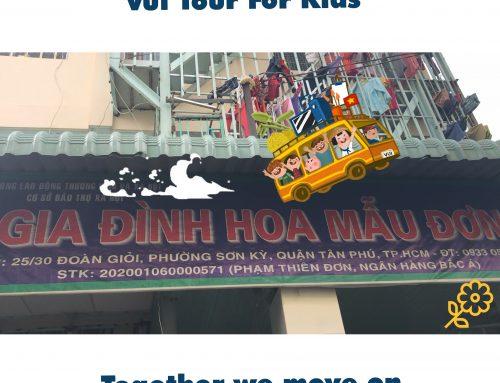 VUI TOUR FOR KIDS KHẢO SÁT MÁI ẤM HOA MẪU ĐƠN